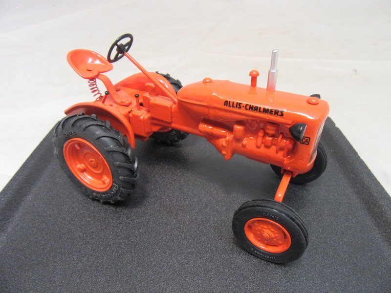 (2) Allis Chalmers Tractors and Cultivator Plow - 4