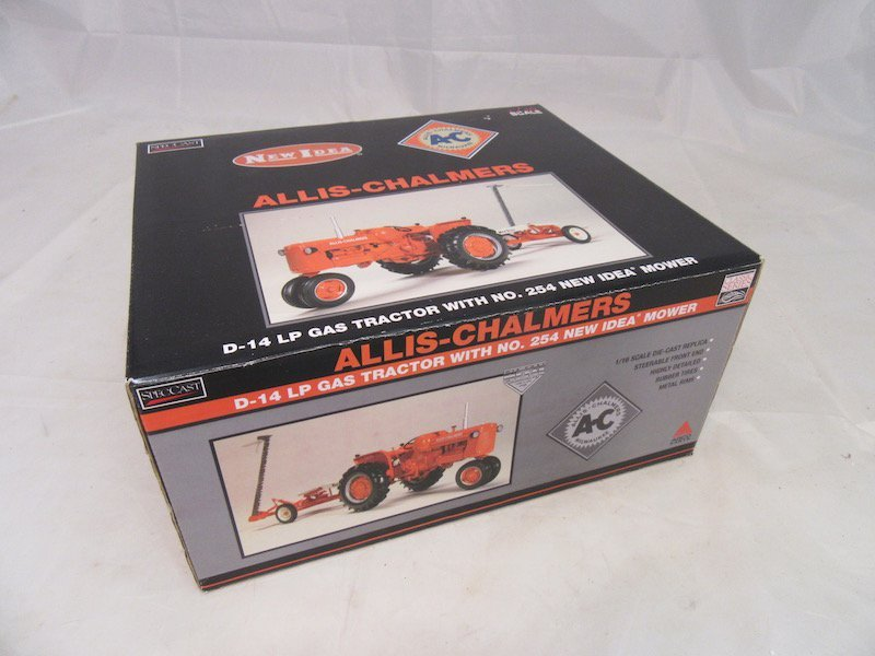 SpecCast Allis Chalmers D-14 LP Gas Tractor with NO.