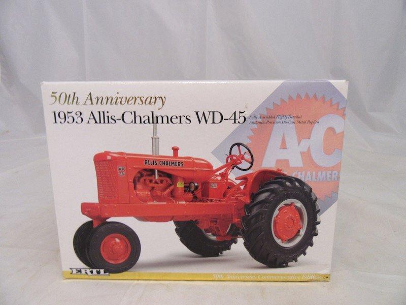 Ertl 50th Anniversary 1953 Allis Chalmers WD-45 Tractor