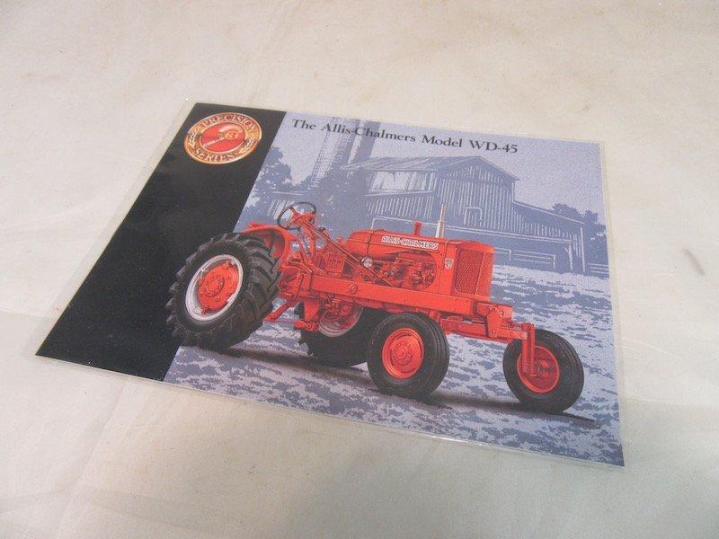 Precision Series Allis Chalmers Model WD-45 Tractor - 4