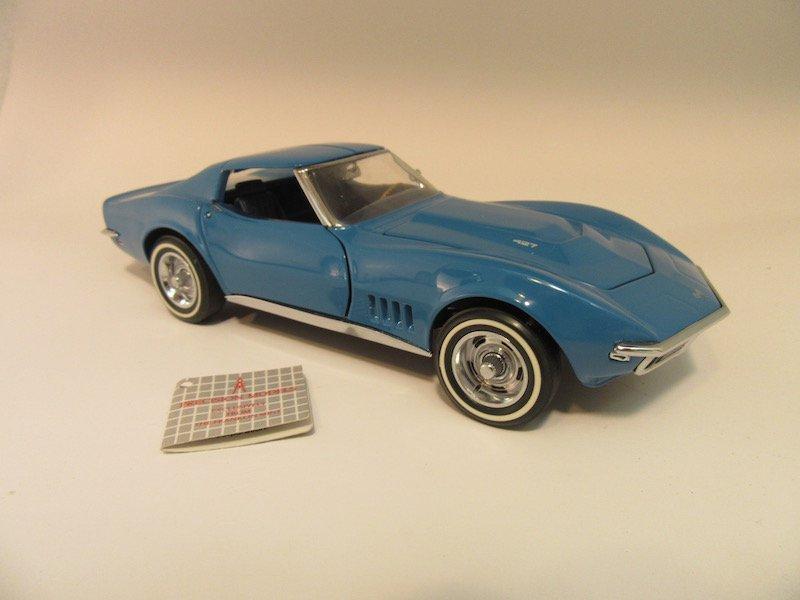 Franklin Mint Precision Models 1968 Corvette