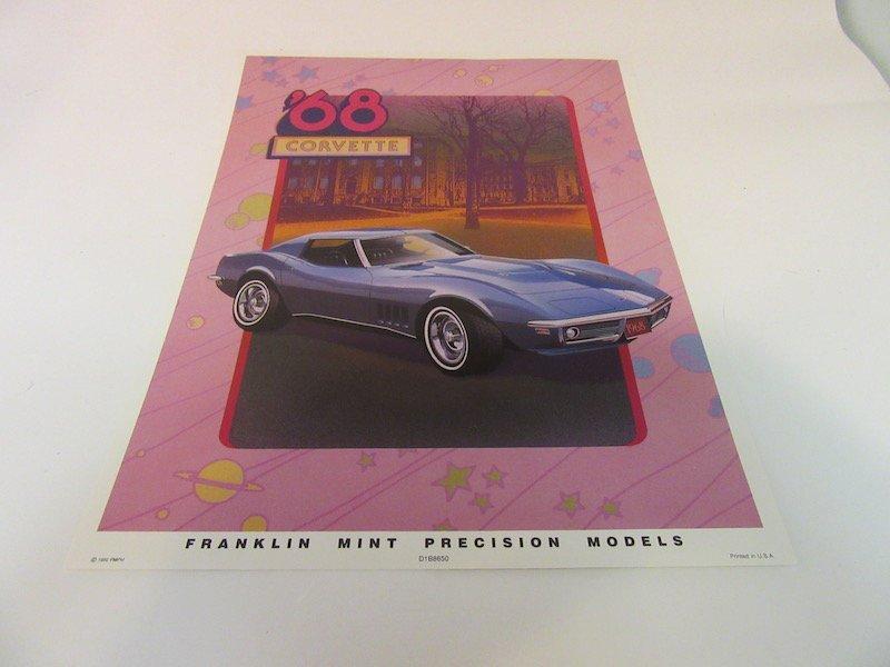 Franklin Mint Precision Models 1968 Corvette - 2