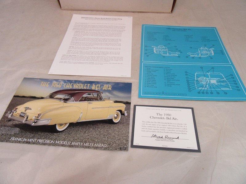 Franklin Mint Precision Models 1950 Chevrolet Bel Air - 5