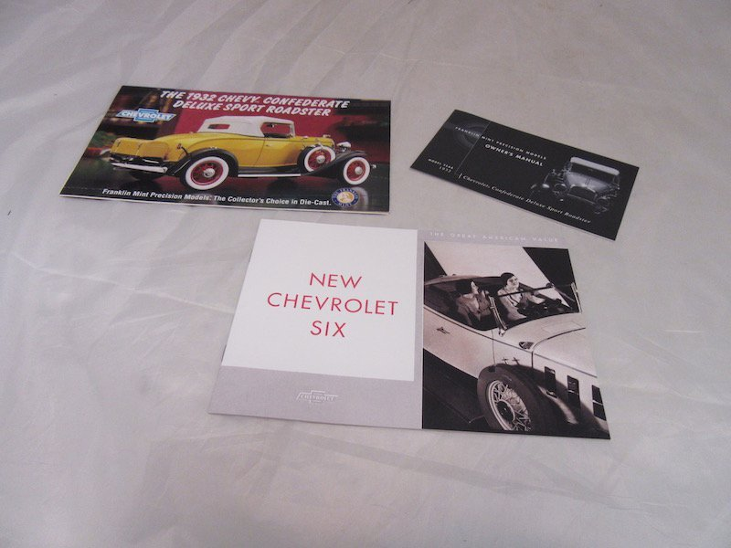Franklin Mint 1932 Chevy Confederate Deluxe Sport - 3