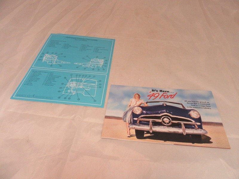 Franklin Mint Precision Model 1949 Ford Custom - 6