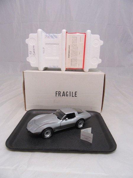 Franklin Mint 1978 Corvette - 5