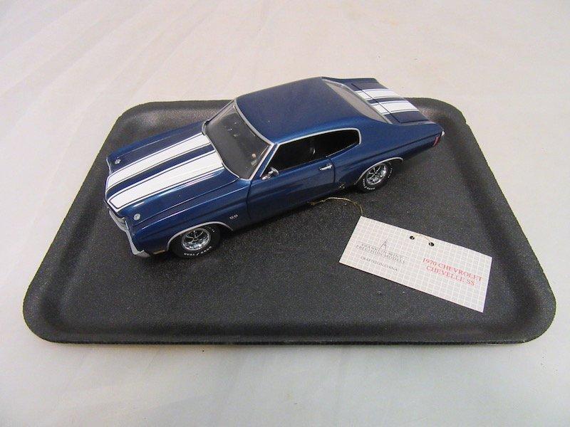 Franklin Mint Precision Model 1970 Chevelle SS 454