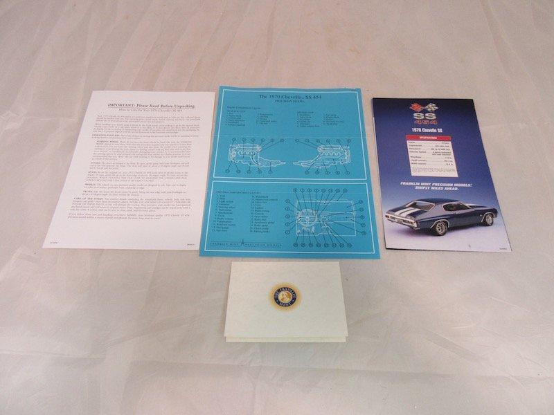 Franklin Mint Precision Model 1970 Chevelle SS 454 - 3
