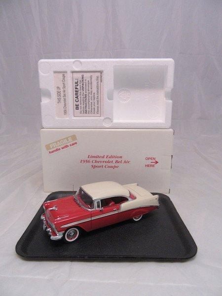 Danbury Mint Limited Edition 1956 Bel Air Sport Coupe - 4