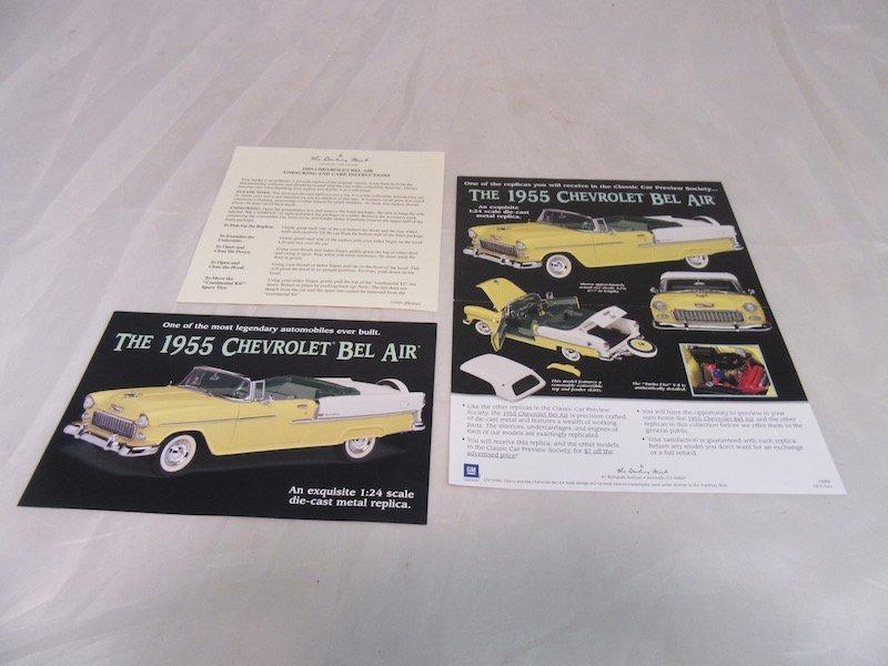 Danbury Mint 1955 Chevrolet Bel Air - 3