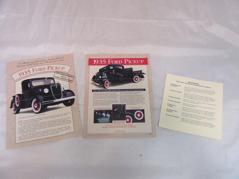 Danbury Mint 1935 Ford Pickup - 3