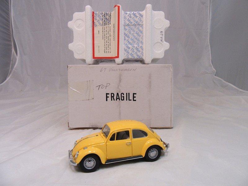 Franklin Mint Precision Model 1967 Volkswagen Beetle - 3