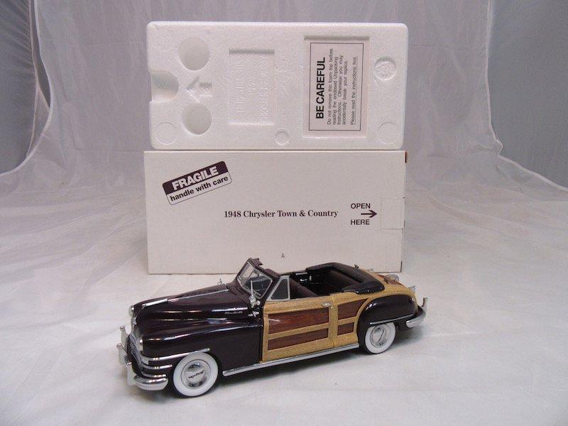 danbury Mint 1948 Chrysler Town & Country - 4
