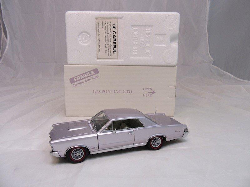 Danbury Mint 1965 Pontiac GTO - 4