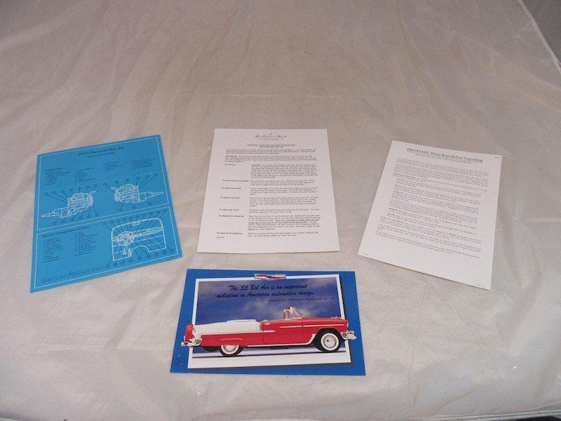 Franklin Mint Precision Models 1955 Chevrolet Bel Air - 4