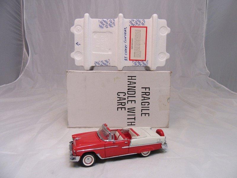 Franklin Mint Precision Models 1955 Chevrolet Bel Air - 5