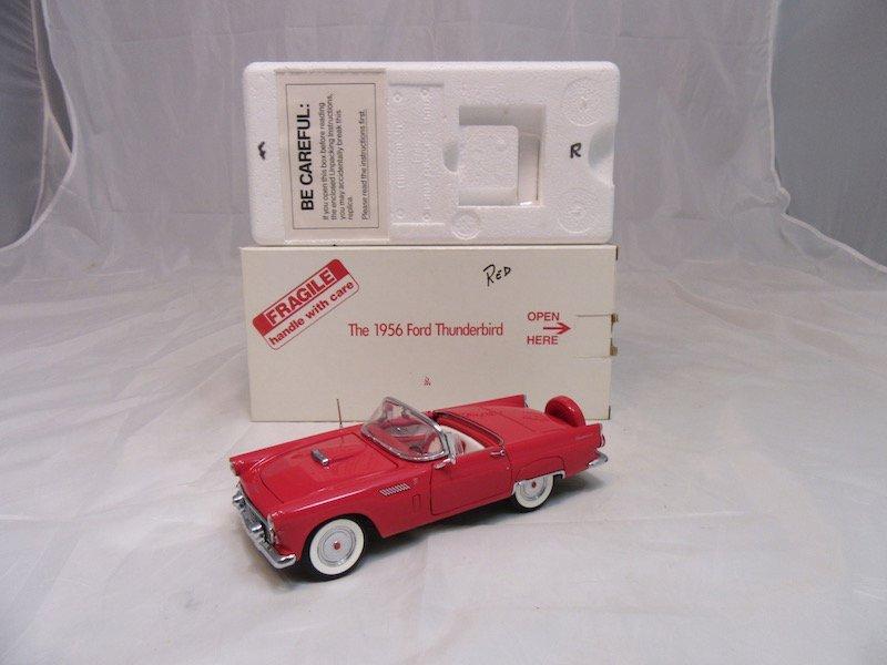 Danbury Mint 1956 Ford Thunderbird - 4