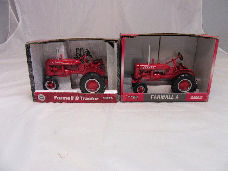 Ertl Farmall A and B Tractos