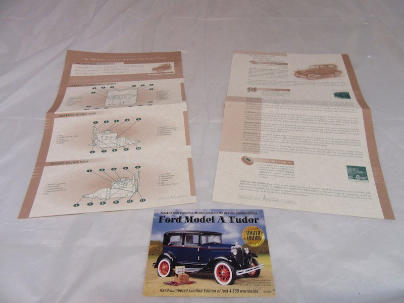 Franklin Mint Precision Models Limited Edition Ford - 4