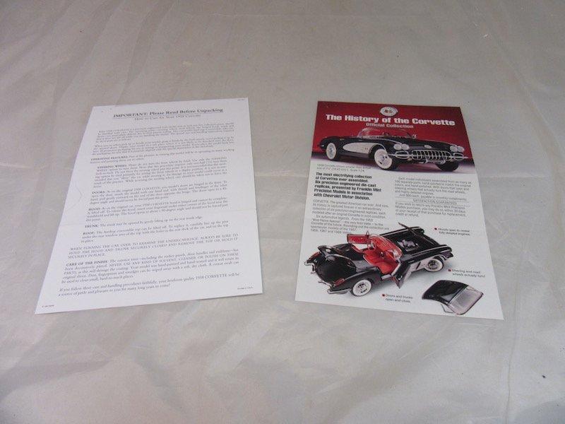Franklin Mint Precision Models 1958 Corvette - 3