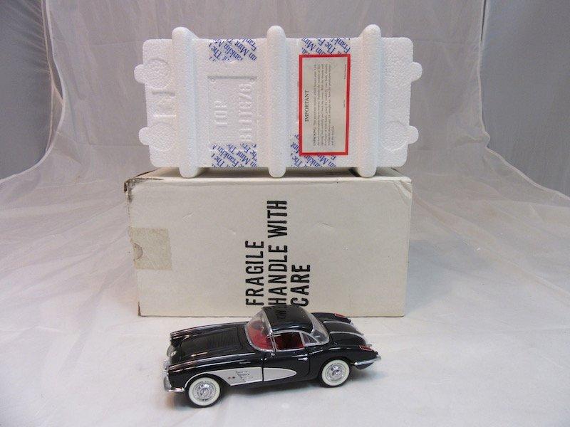 Franklin Mint Precision Models 1958 Corvette - 4