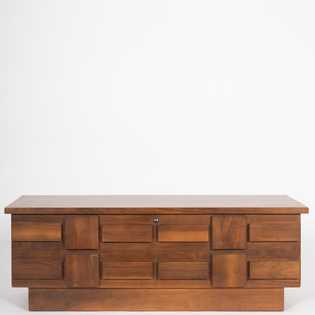 Lane Alta Vista Cubist-Style Cedar Chest