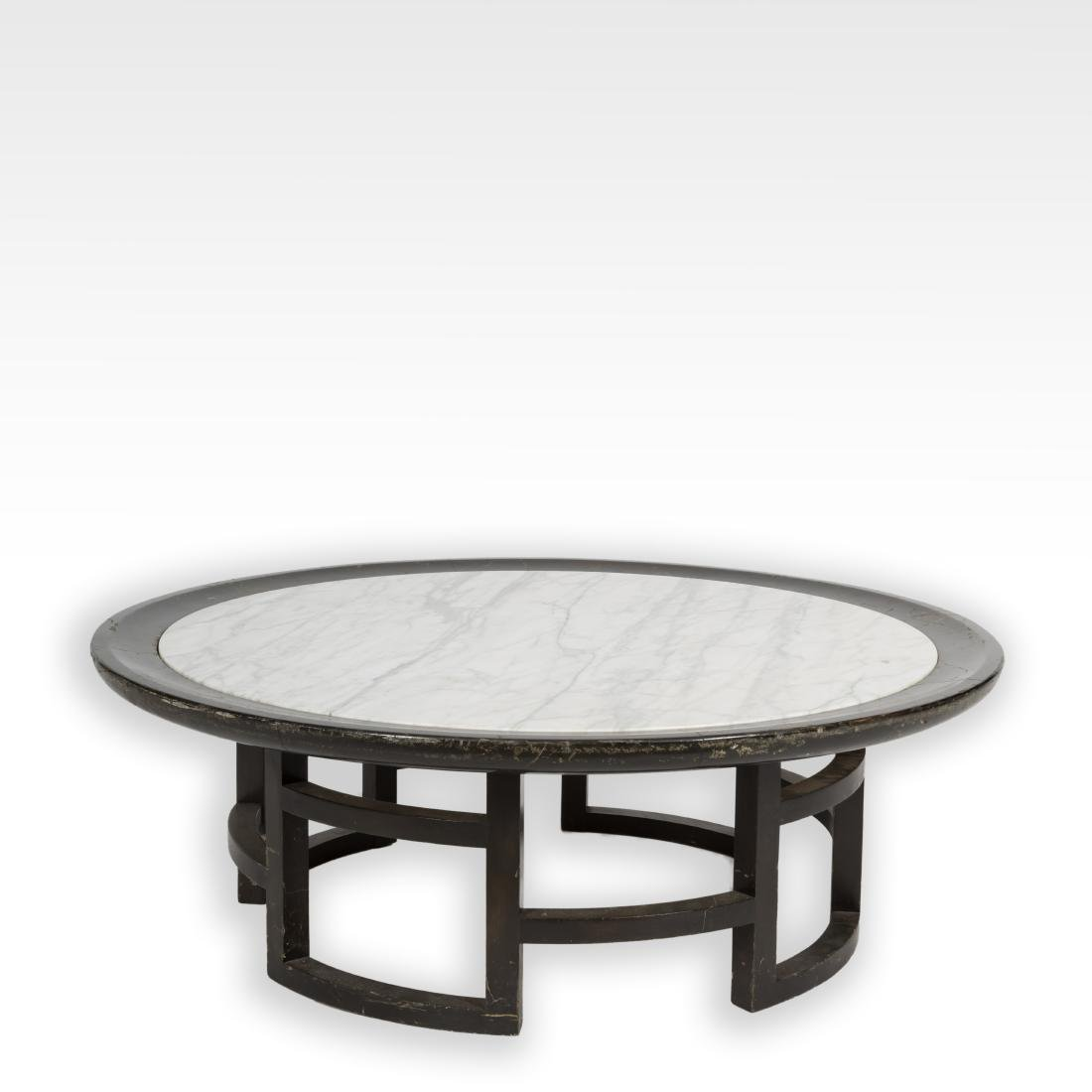 Chinese Modern Marble Top Cocktail Table