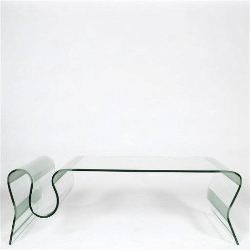 Glass Coffee Table With Magazine Rack 10