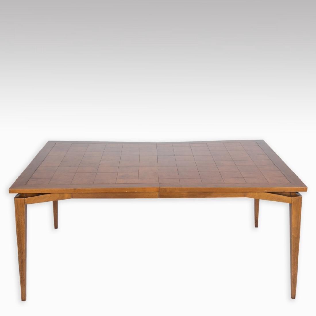 Tomlinson Walnut Burled Dining Room Table Mar 25 2017 Regency Auction House In Nj