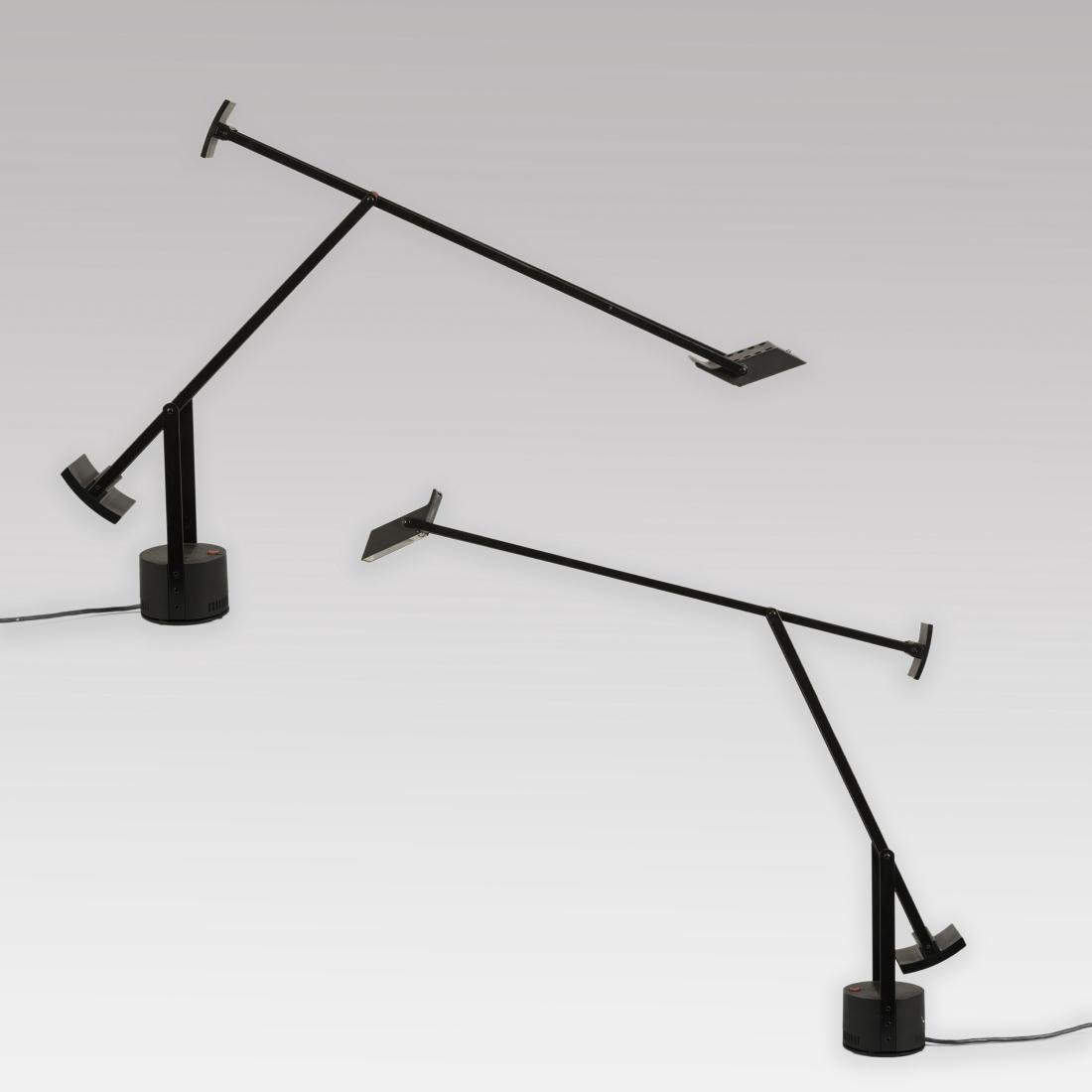 Pair Artemide Tizio Lamps by Richard Sapper