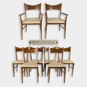 Paul McCobb for Calvin - Set of 8 Dining Chairs