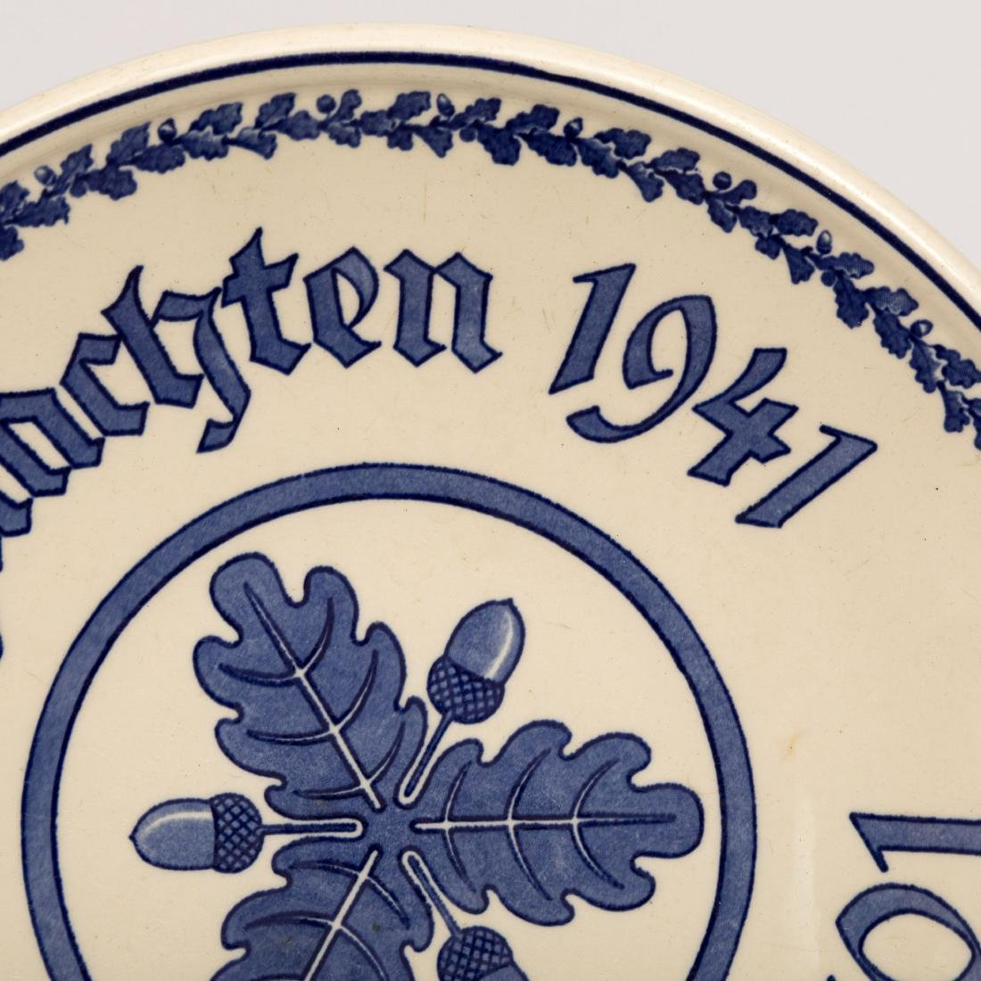 Six French and German Wall Plates - 3
