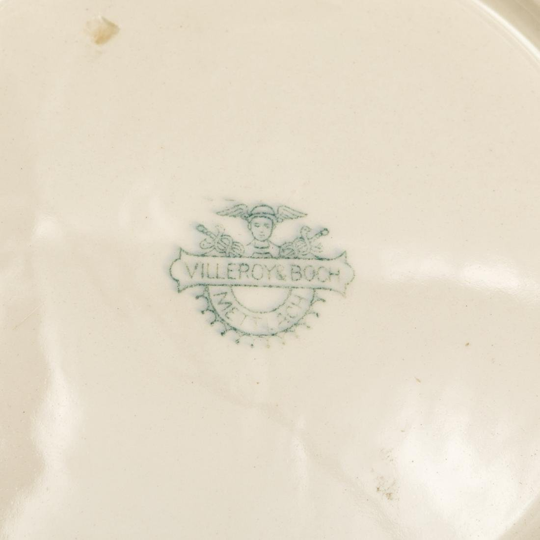 Six French and German Wall Plates - 6