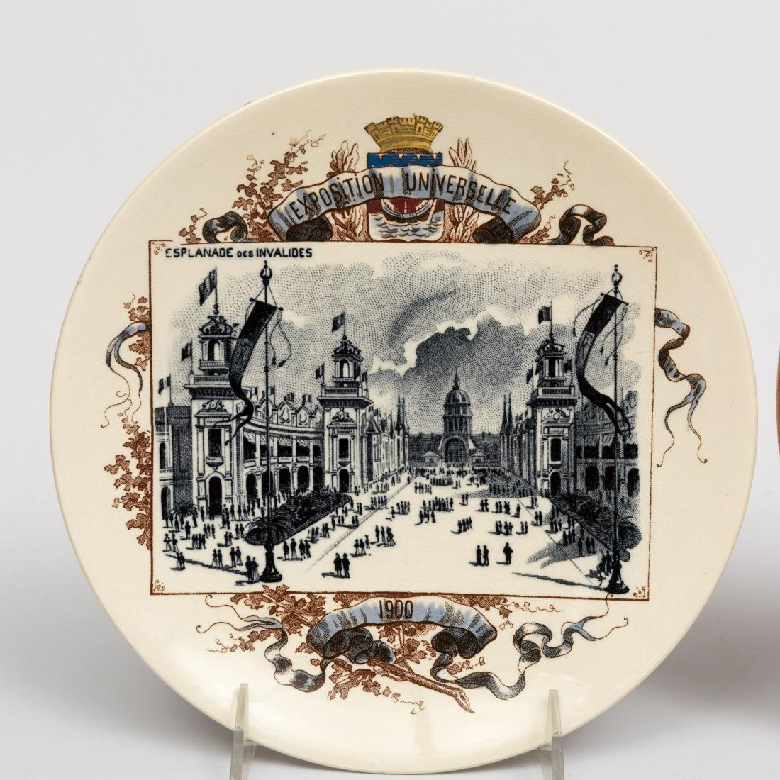 Six French and German Wall Plates - 7