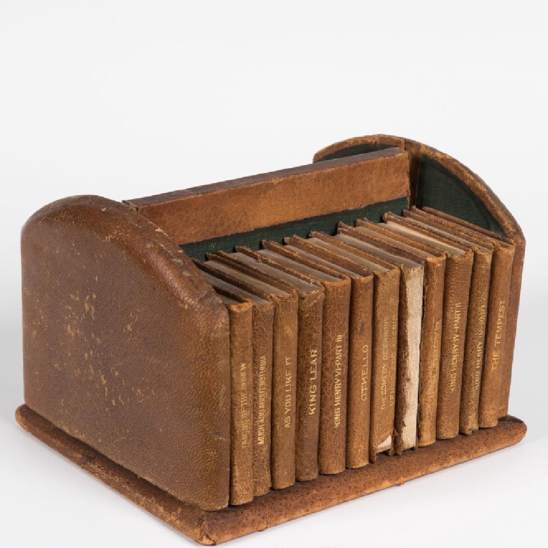 Shakespeare Miniature Set Leather Books - 24 Vol