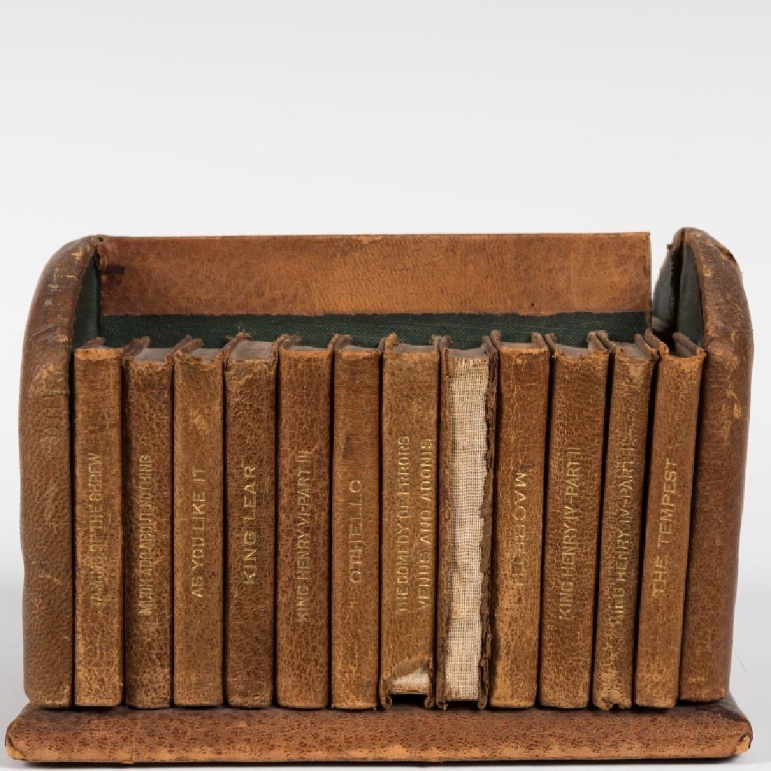 Shakespeare Miniature Set Leather Books - 24 Vol - 2