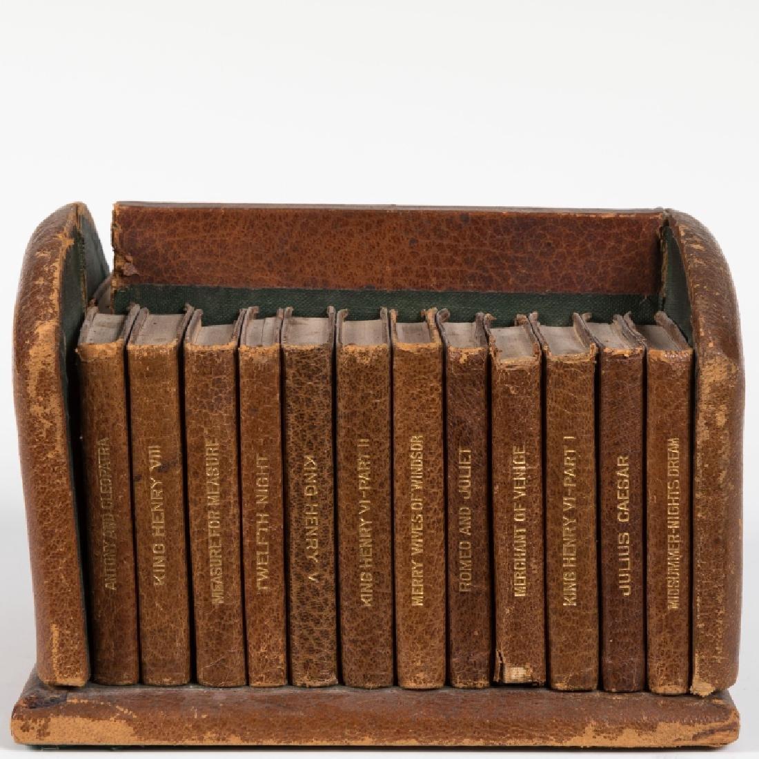 Shakespeare Miniature Set Leather Books - 24 Vol - 3