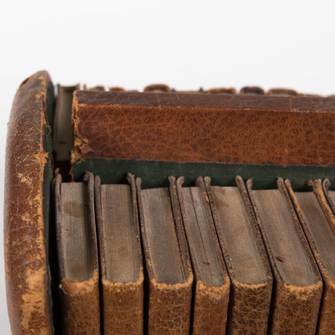 Shakespeare Miniature Set Leather Books - 24 Vol - 4