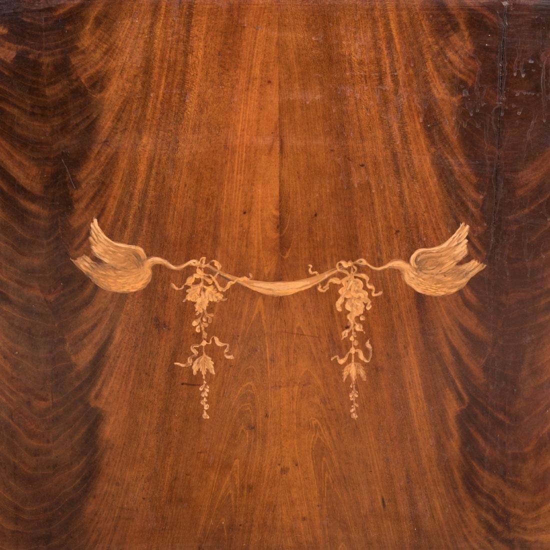 Inlaid Mahogany Antique Cabinet - 6