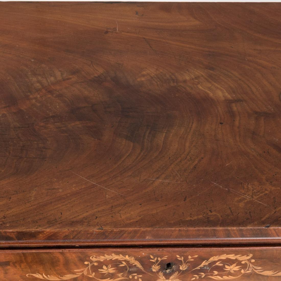Inlaid Mahogany Antique Cabinet - 7