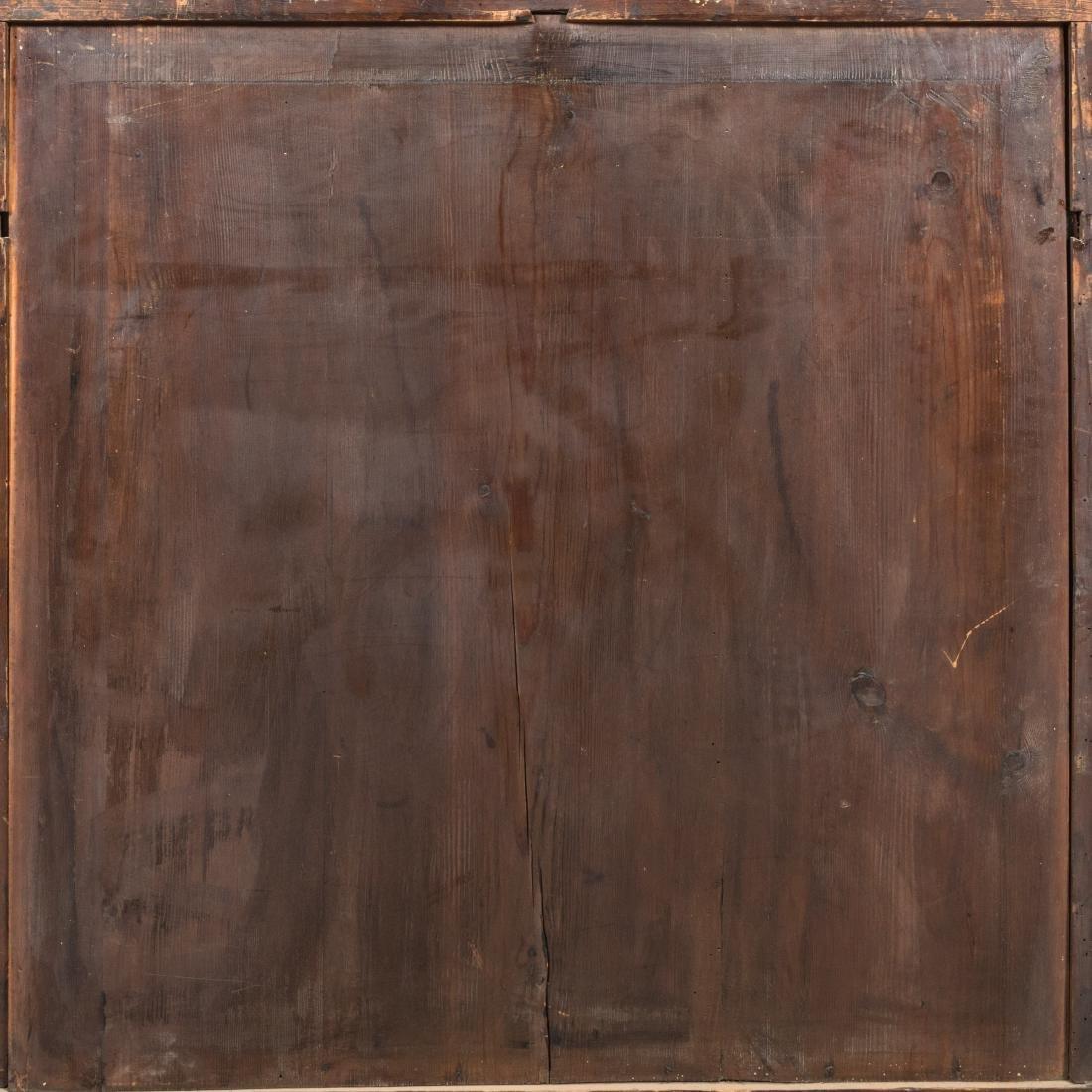 Inlaid Mahogany Antique Cabinet - 8