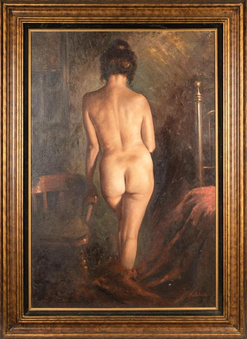 Harold Johnsen - Oil on Canvas - Nude