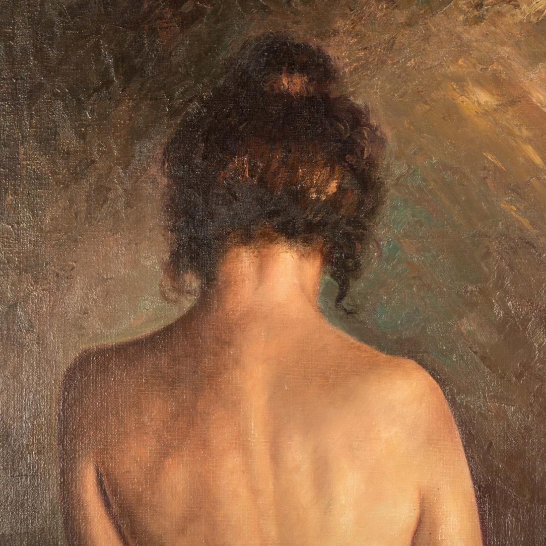 Harold Johnsen - Oil on Canvas - Nude - 2