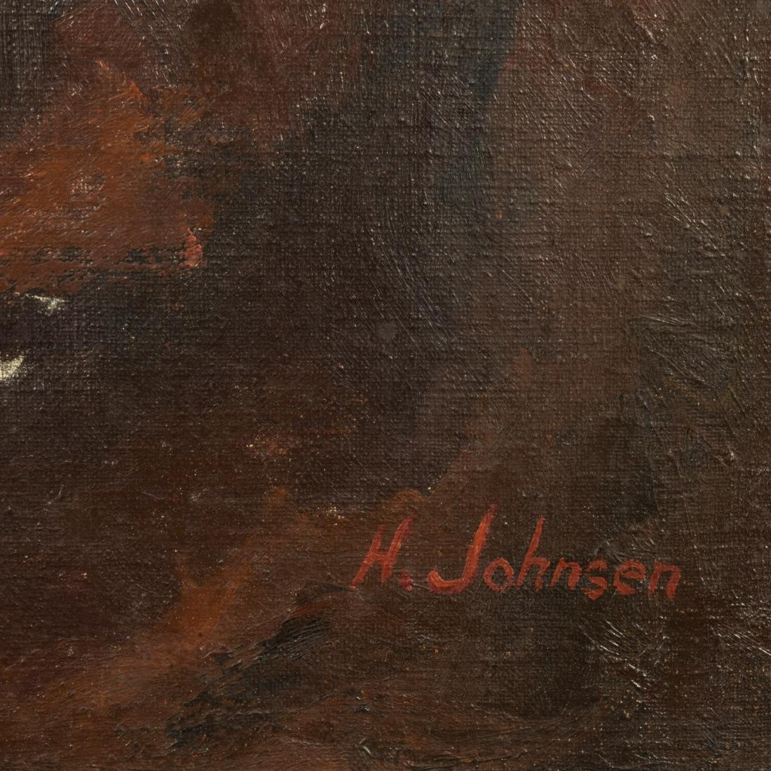 Harold Johnsen - Oil on Canvas - Nude - 3