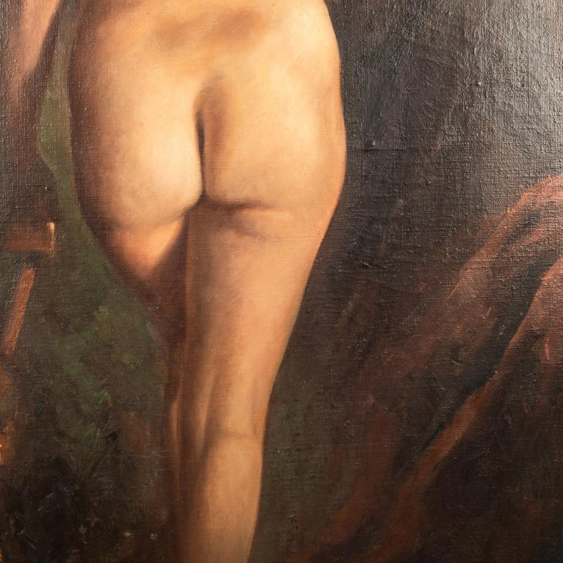 Harold Johnsen - Oil on Canvas - Nude - 4