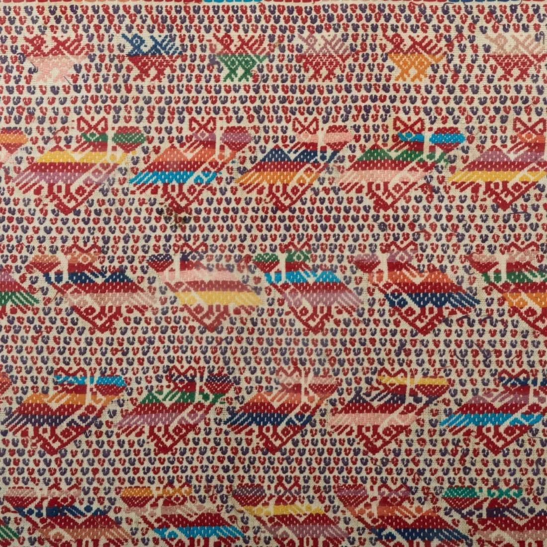 """Framed Needlework Sampler - """"Rows of Birds"""" - 2"""
