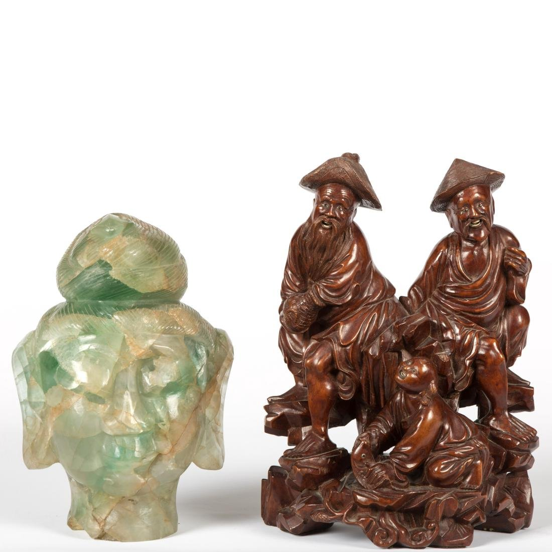 Chinese Wood Carving - Jade Quan Yin