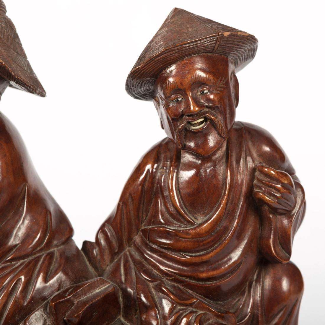 Chinese Wood Carving - Jade Quan Yin - 6