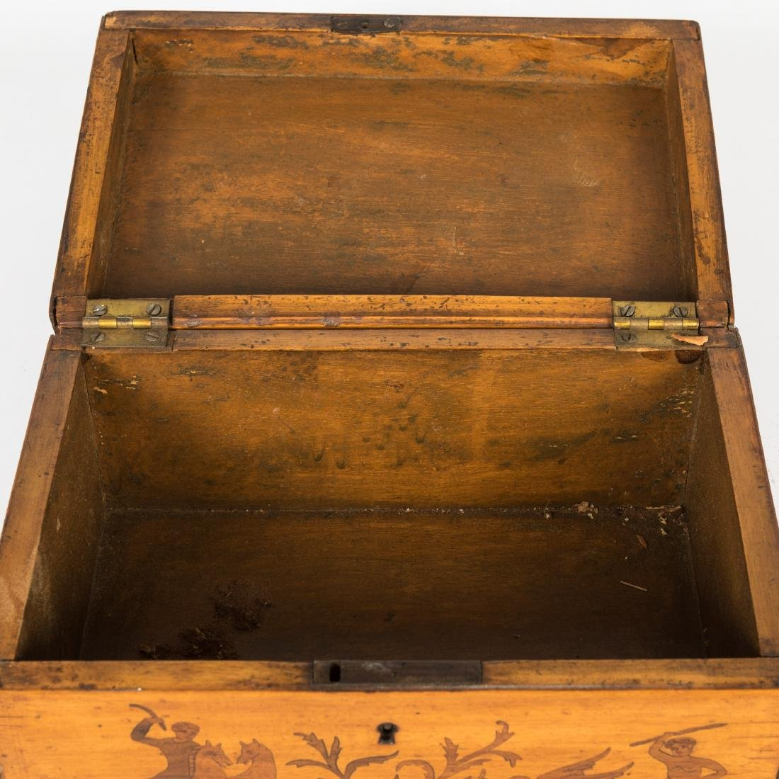 Pair Bronze Frames and Antique Box - 6