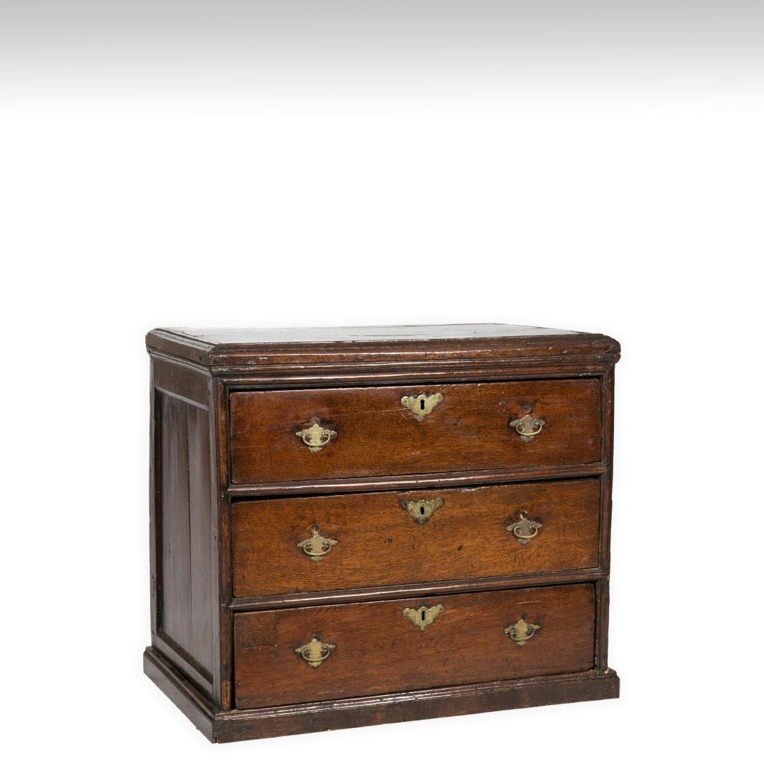 Antique Three Drawer Chest